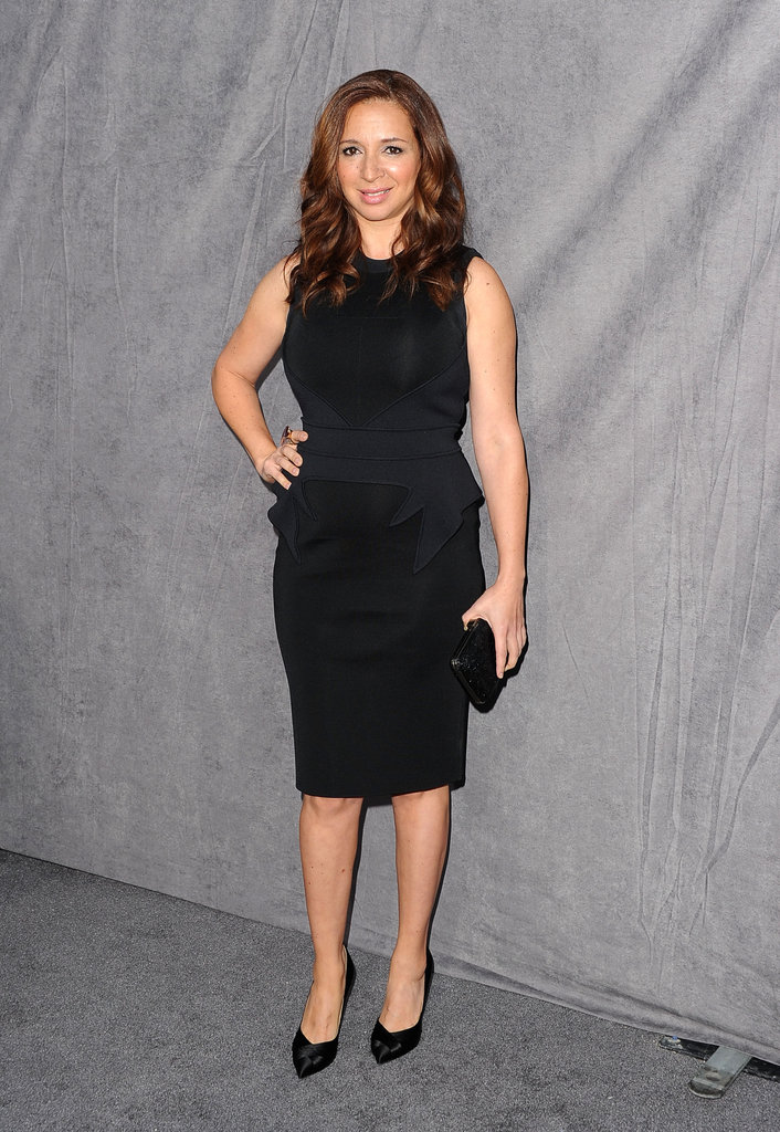 Maya Rudolph had a black dress at the Critics' Choice Movie Awards.