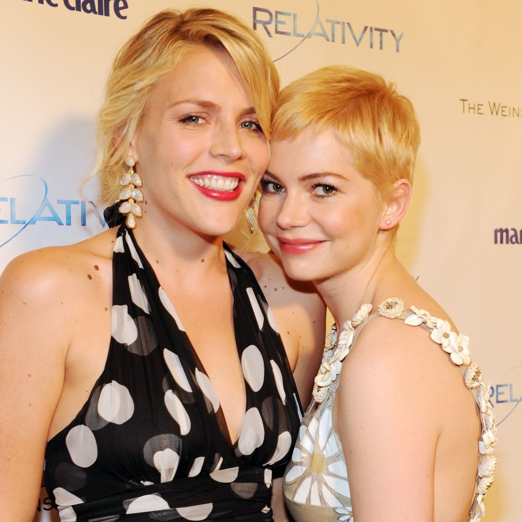 Longtime friends — and award show dates — Busy Philipps and Michelle Williams posed sweetly together in 2011.