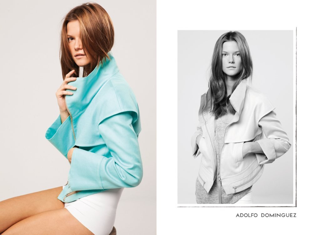 Super tailored jackets in girlier hues dominate at Adolfo Dominguez. Source: Fashion Gone Rogue