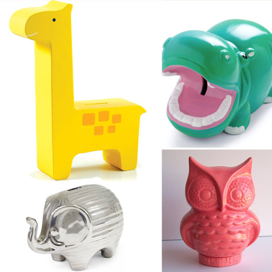 Later Piggy! 5 Animal Banks Your Lil One Will Love