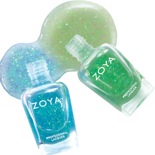 New Flaky Nail Polish From Zoya