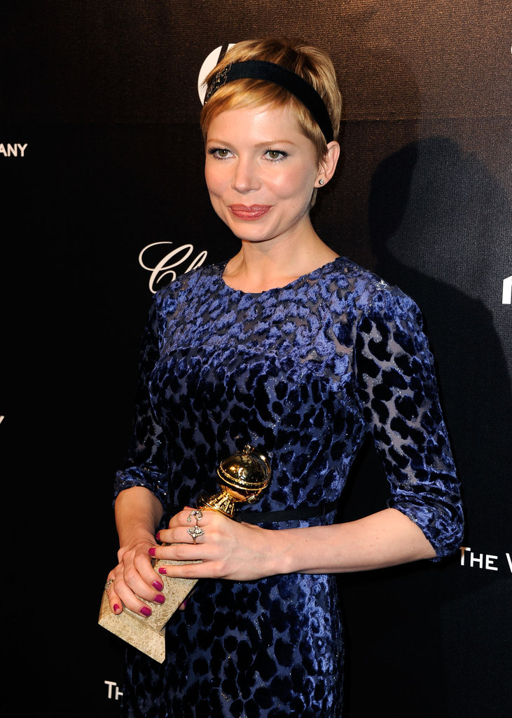 Michelle Williams partied with Harvey Weinstein.