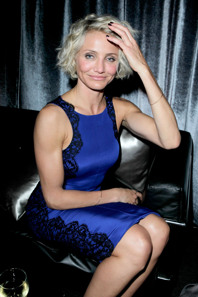 Cameron-Diaz-wore-blue-dress-Weinstein-Company-Golden.jpg (683×1024)