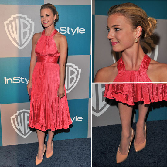 Emily VanCamp at Golden Globes Afterparty 2012