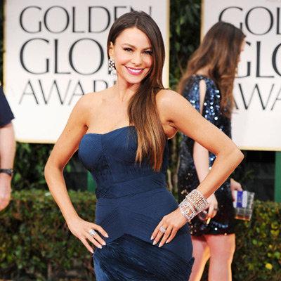 Modern Family Cast Pictures at 2012 Golden Globes: Sofia Vergara, Julie Bowen, Sarah Hyland and More