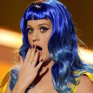 Katy Perry's New Blue Hair Hue is a Breakup Makeover
