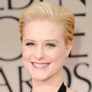 Evan Rachel Wood's 2012 Golden Globes Hair and Makeup Look