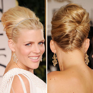 Busy Philips Red Carpet Hair and Makeup Look at the 2012 Golden Globes