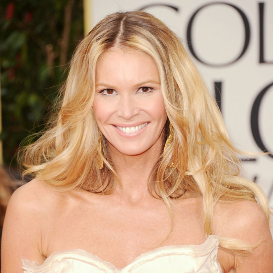 Elle Macpherson's 2012 Golden Globes Hair and Makeup Look ...