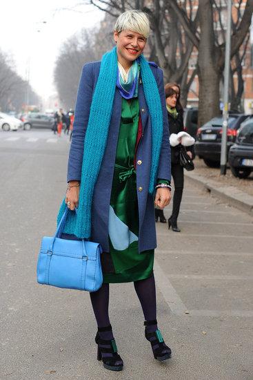 Street Style from Milan Fashion Week: Fall 2012 Menswear Shows