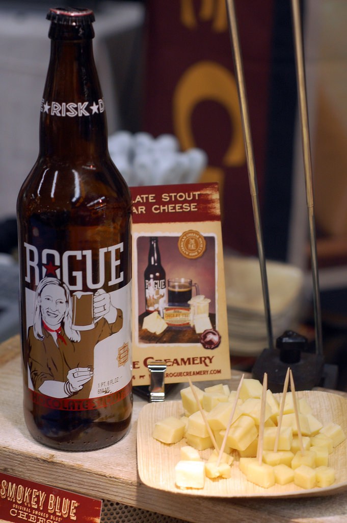 Rogue Creamery + Rogue Ales = Beer Cheese!