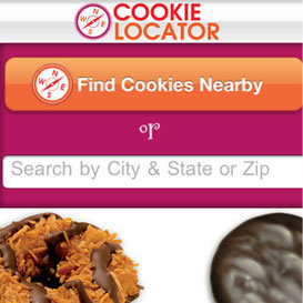 When and Where Girl Scout Cookies Are on Sale App