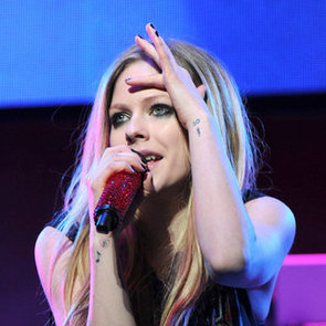 Avril Lavigne Designs Nail Strips For Sally Hansen