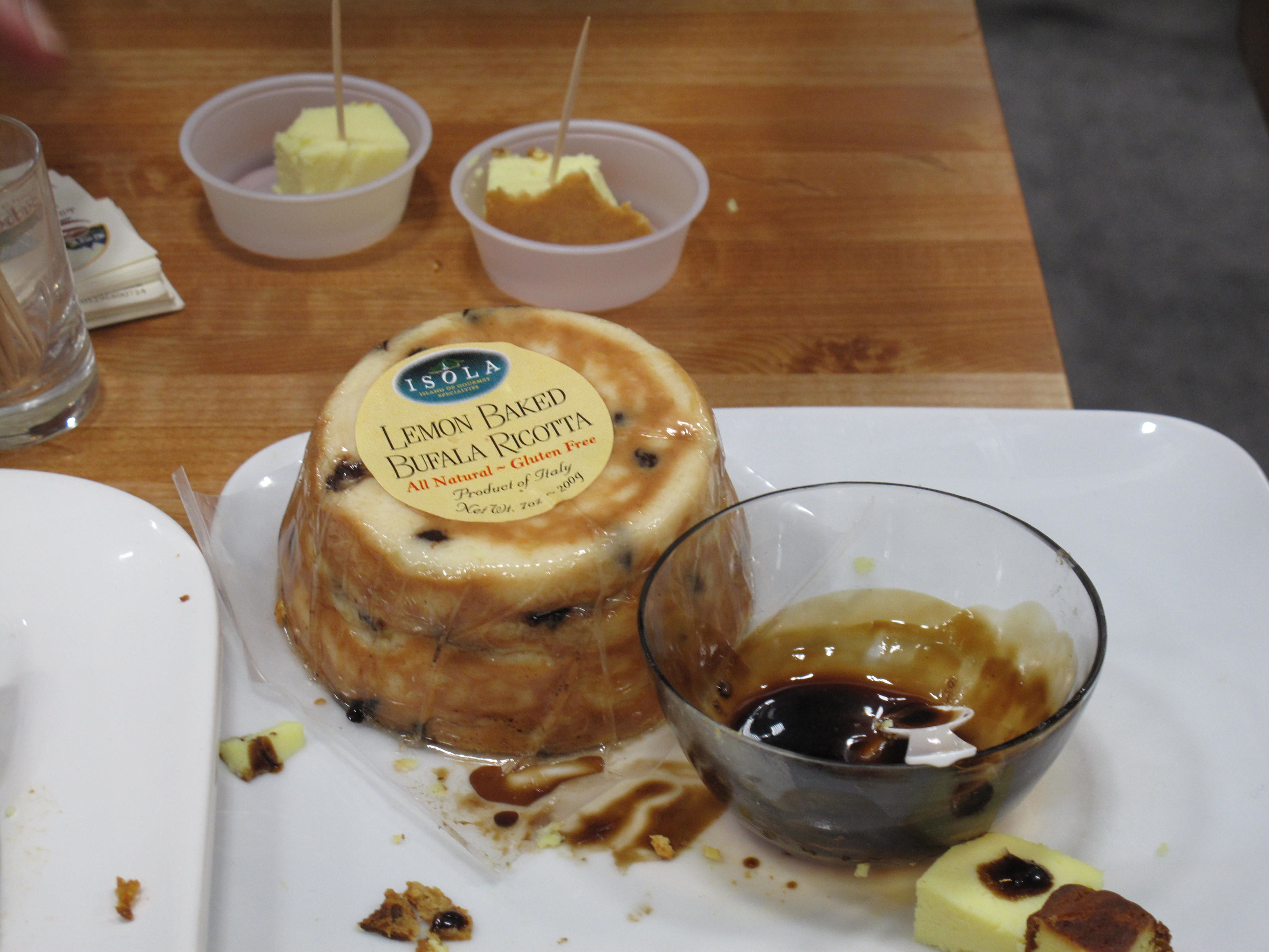 Lemon Cheesecake-Flavored Cheese