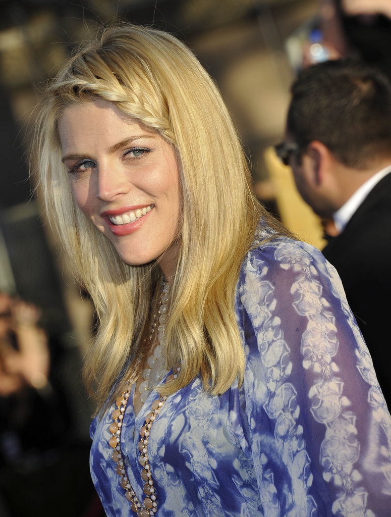 Busy Philipps rocked a side braid at the 2012 SAG Awards.