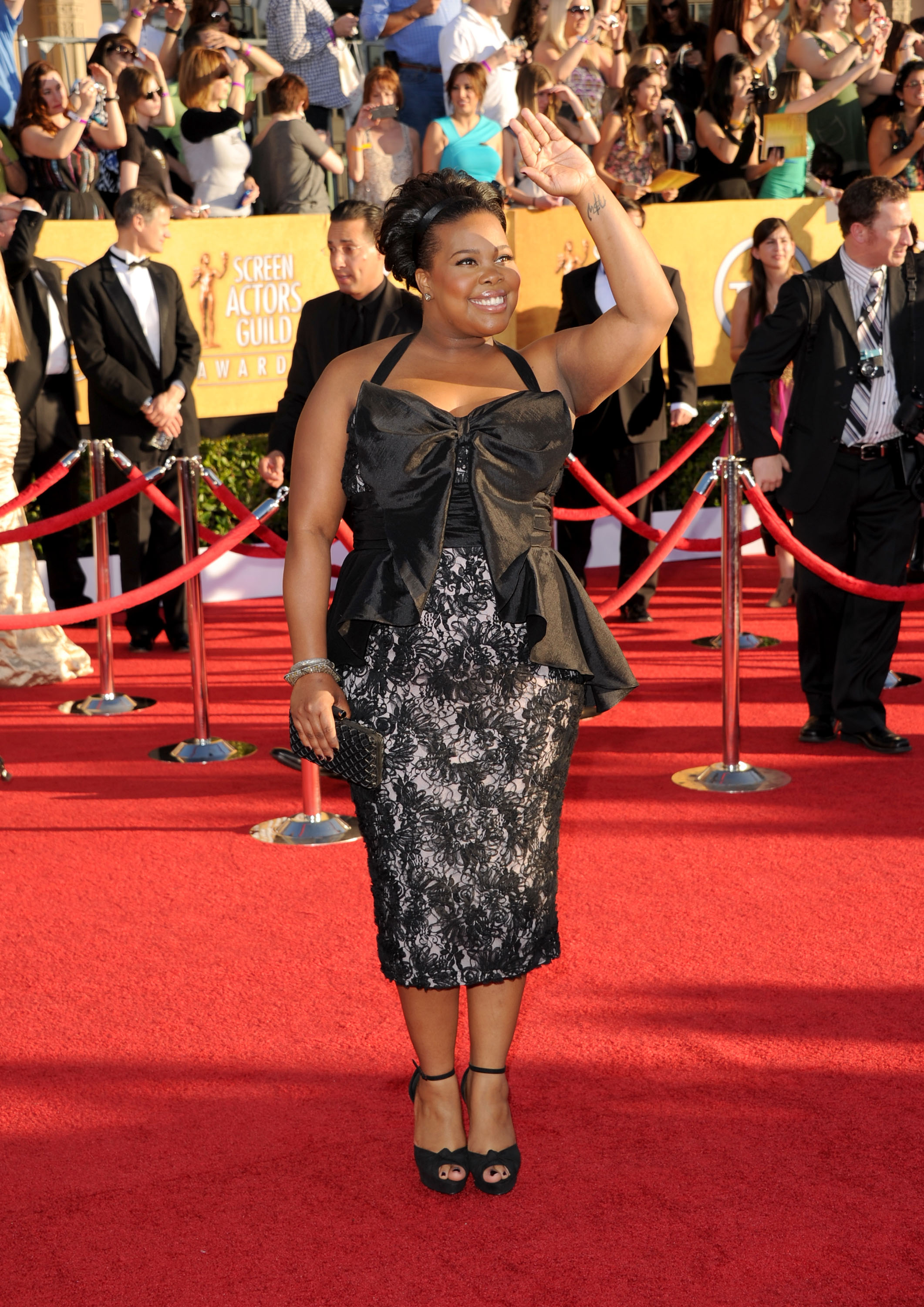 Amber Riley at the SAG Awards