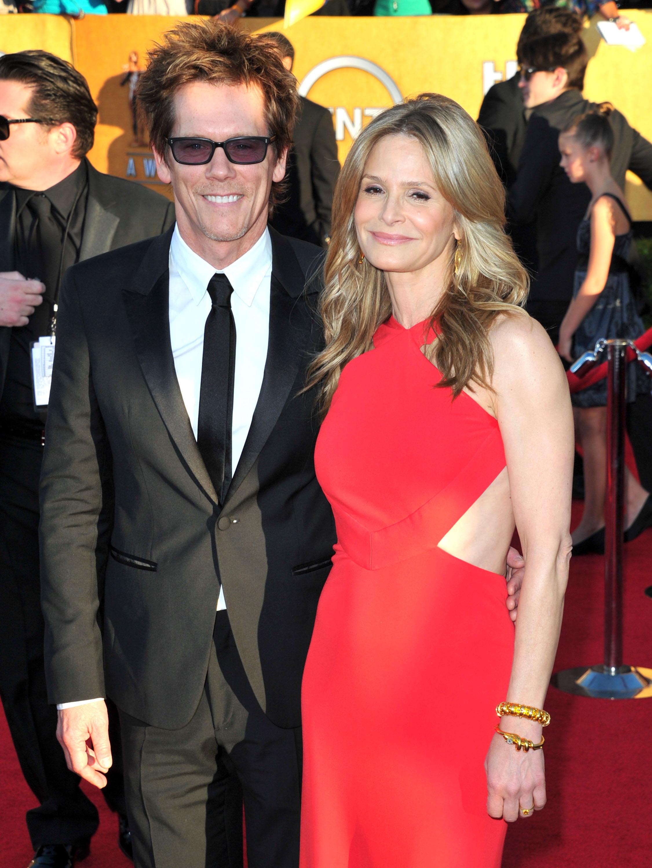 Kevin Bacon and Kyra Sedgwick at the SAG Awards