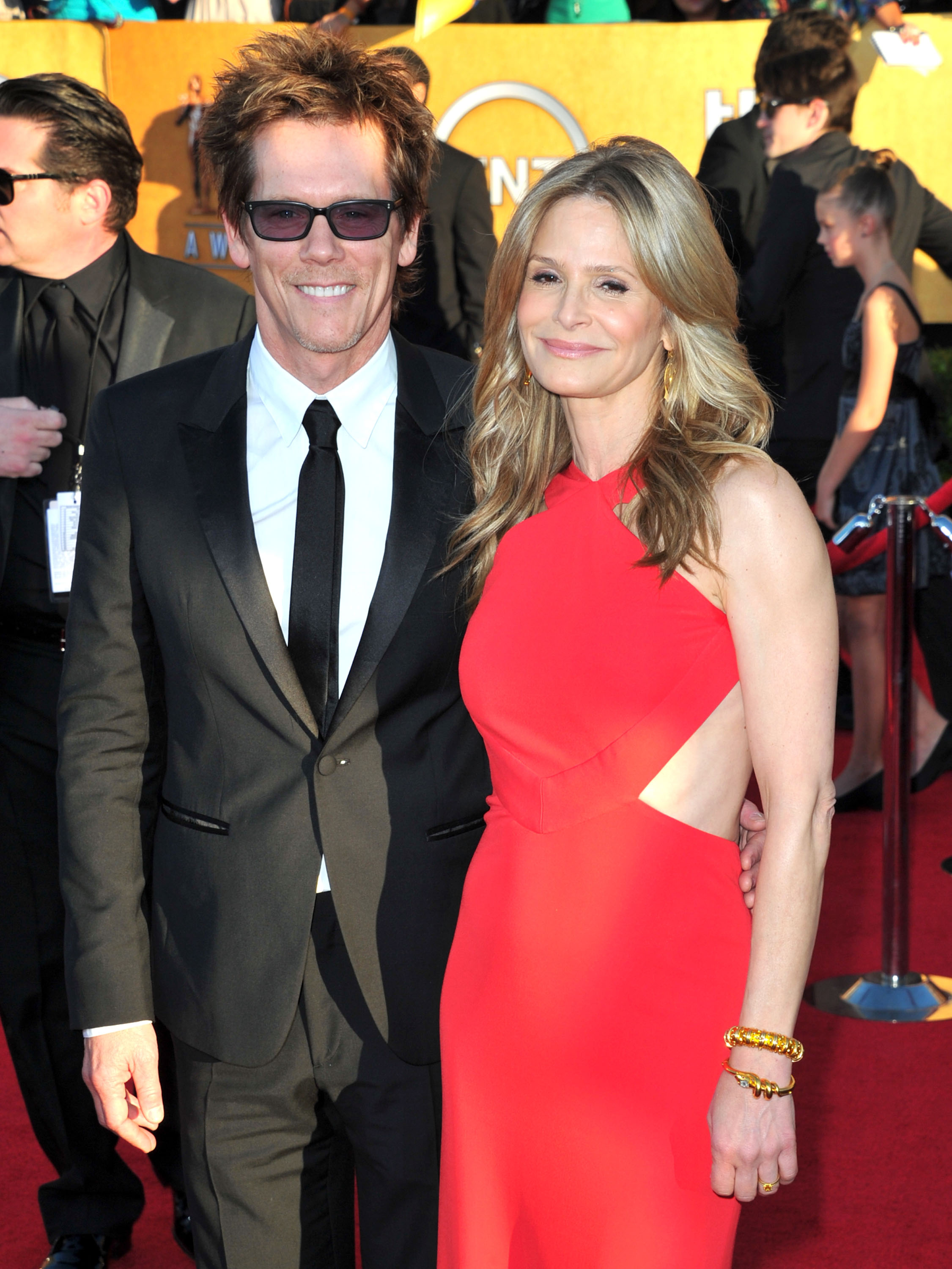 Kevin Bacon and Kyra Sedgwick at the SAG Awards