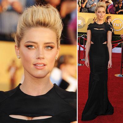 Amber Heard at the SAG Awards 2012