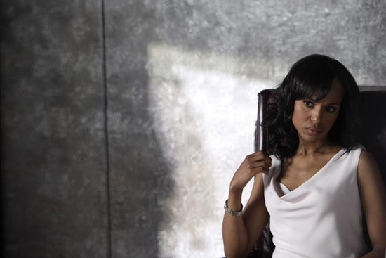 Kerry Washington in Scandal.