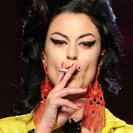 Jean Paul Gaultier Dresses Models as Amy Winehouse