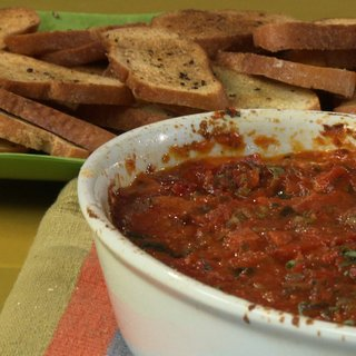Greek Pizza Dip Recipe -- Replacement Video 1/27/12