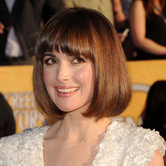 Rose Byrne's Voluminously Shiny Bob