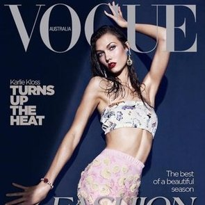 Karlie Kloss Snags Another Vogue Cover
