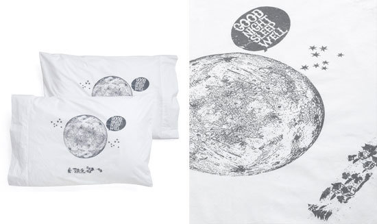 Lunar Pillowcases