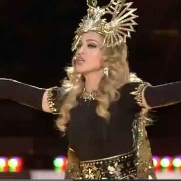 Madonna Super Bowl Halftime Show Video