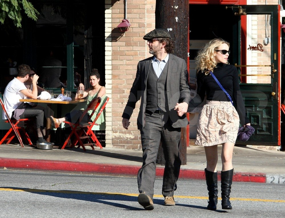 Rachel McAdams and Michael Sheen had a lunch date.