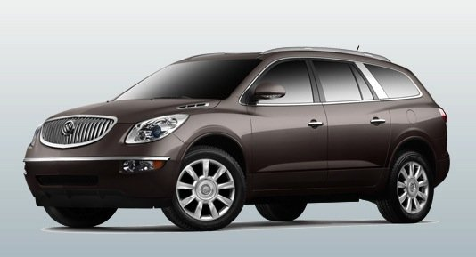 Best Affordable 3-Row Midsize SUV: Buick Enclave