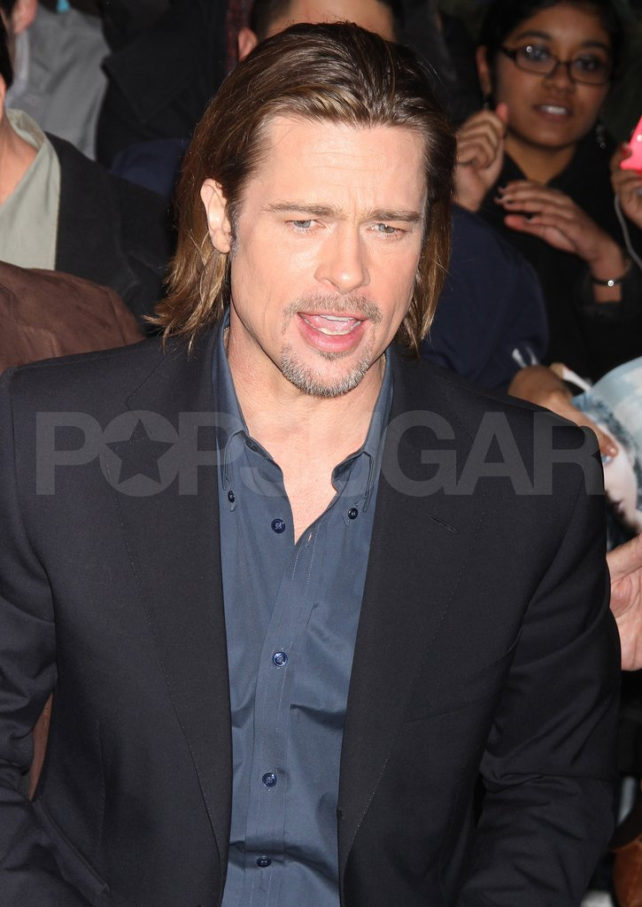 Brad Pitt made his way into The Daily Show.