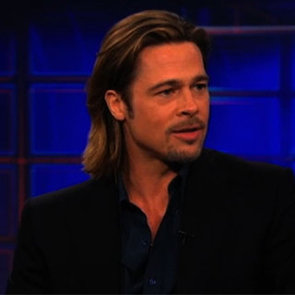 Brad Pitt Daily Show With Jon Stewart (Video)