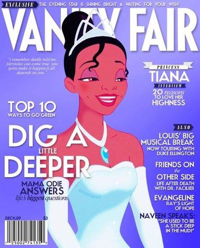 Magazine Cover Tiana