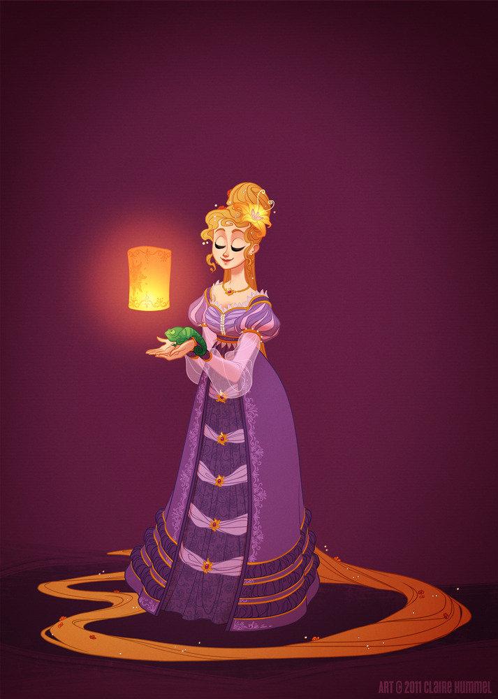 Historical Rapunzel