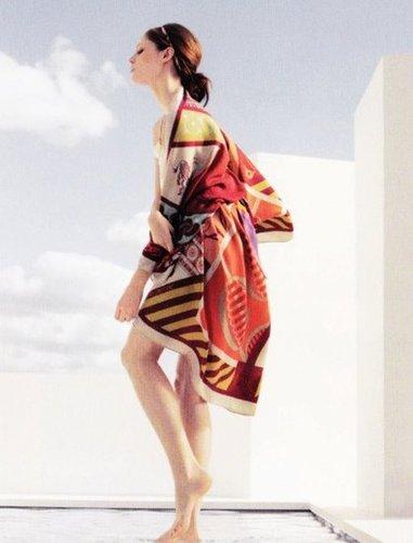 Le Carré Hermès Spring 2012 Ad Campaign