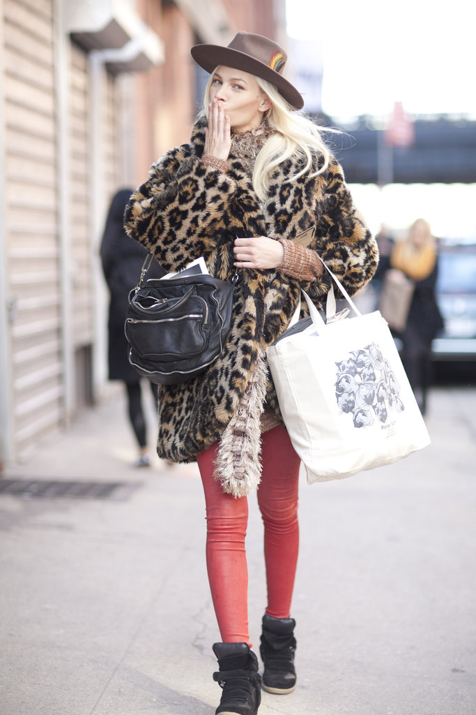 New York Fashion Week Fall 2012 Street Style Popsugar