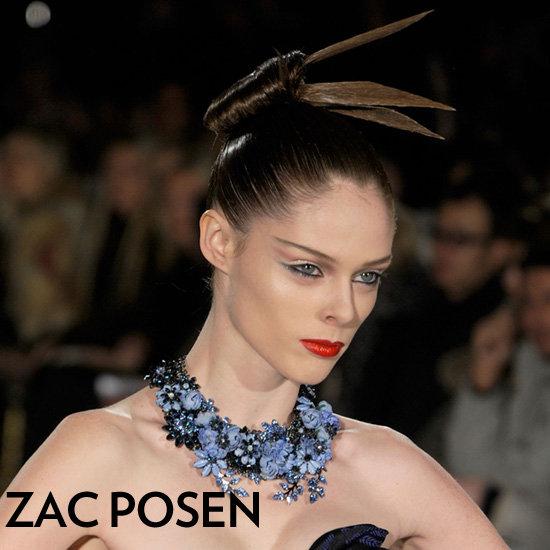 Zac Posen Fall 2012 Beauty Look