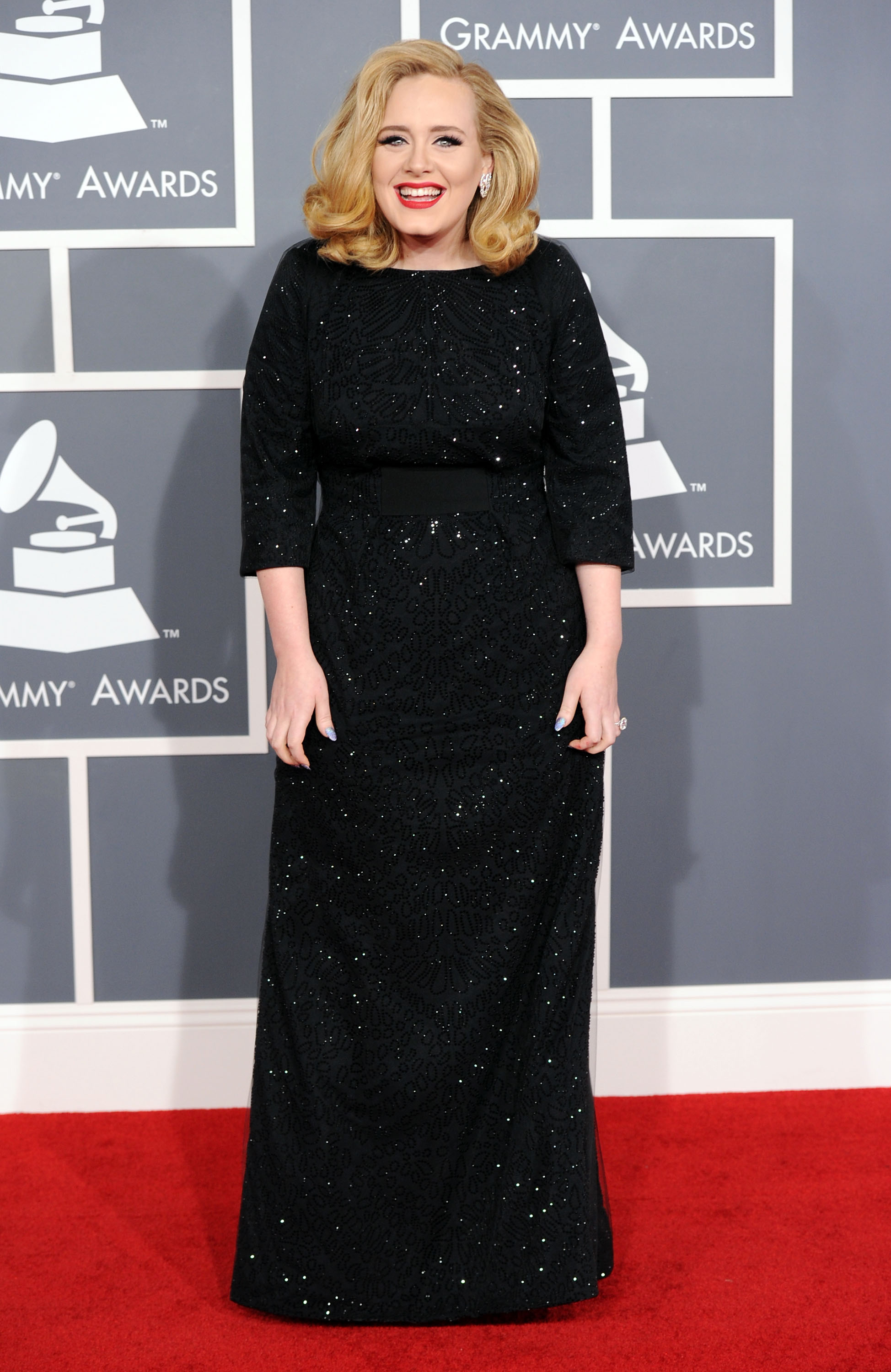 red carpet dress pictures at grammy awards 2012 popsugar