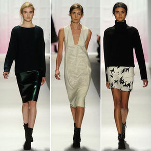 Runway Review and Pictures of Tibi Fall 2012 New York Fashion Week Runway Show