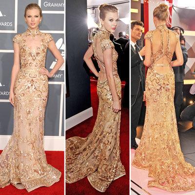Taylor Swift at Grammys 2012