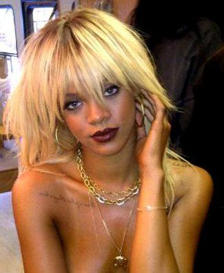 Rihanna Has Blonde Hair