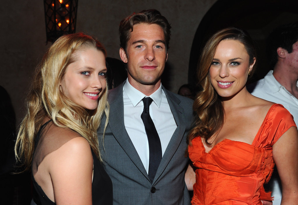 Teresa Palmer, Scott Speedman and Jessica McNamee at the after party for The Vow's LA premiere.