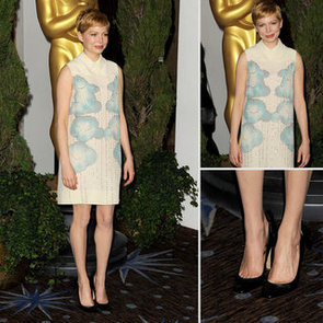 Victoria Beckham A Popular Choice for Celebrities the 2012: Michelle Williams Wears Diffusion Line to Oscars Nominees Luncheon