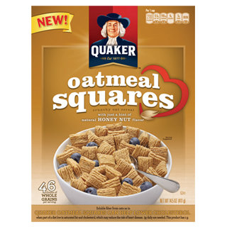 """Finding """"Me"""" Time With Honey Nut Quaker Oat Squares"""
