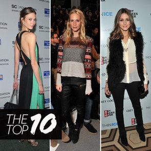 Pictures of the Top Ten Best Dressed Celebrities This Week Karlie Kloss, SJP, Olivia Palermo, Beyonce & More!