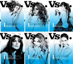 Rosie Huntington-Whiteley Strips Off For Vs. Magazine