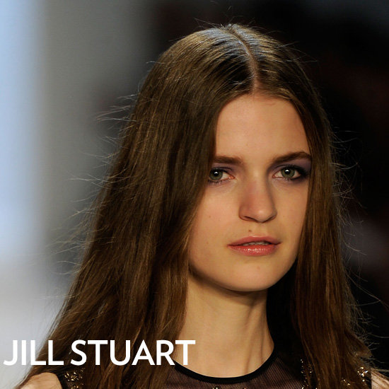 Jill Stuart Fall 2012 Hair and Makeup Look