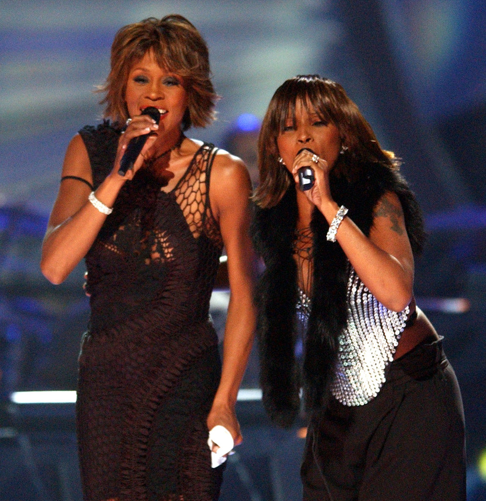 Whitney and Mary J. Blige did a duet at VH-1 Divas in 2002.